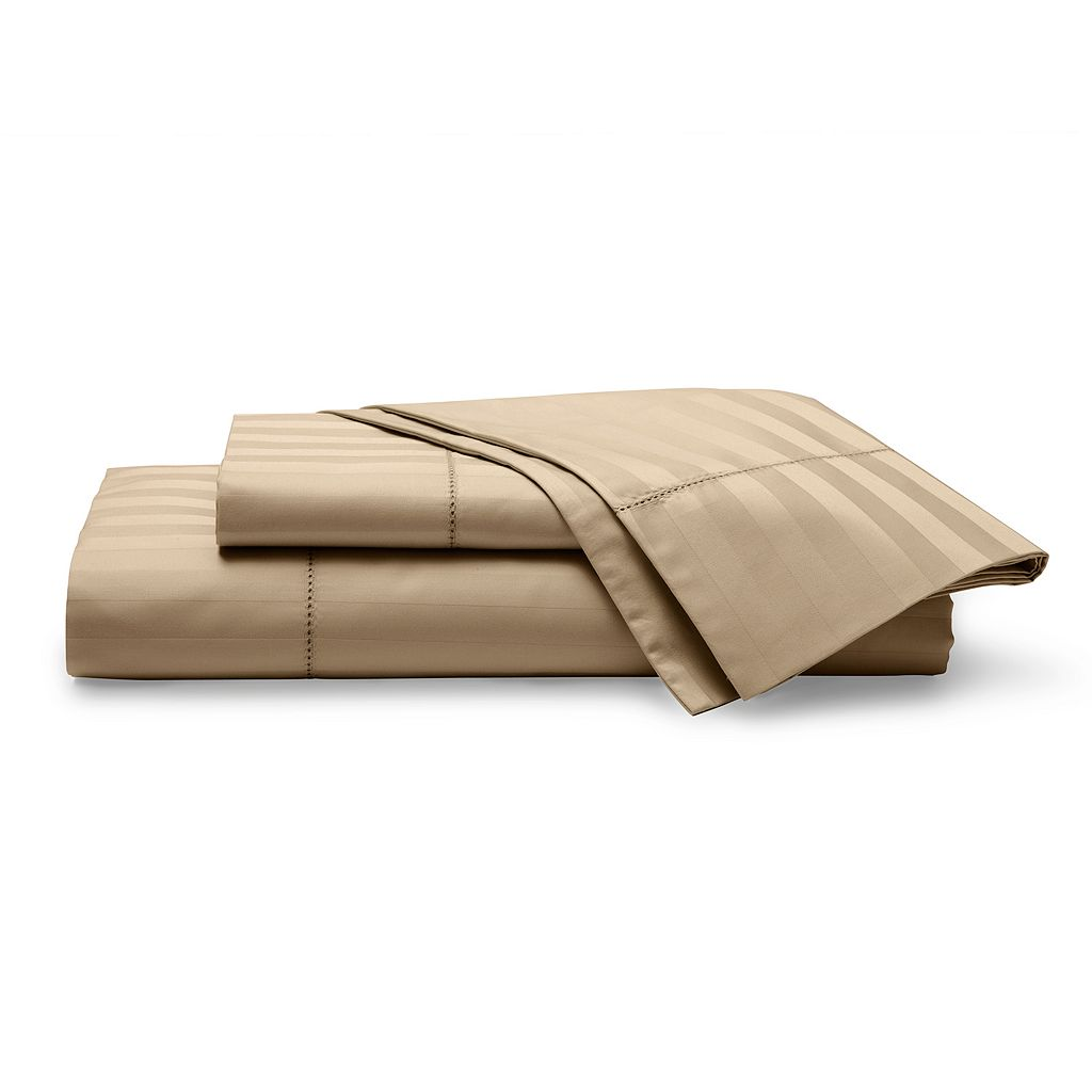 Chaps Damask 500 Thread Count Stripe Sheet Set