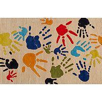 Momeni Lil Mo Whimsy Finger Paint Rug