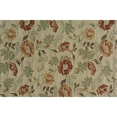 Momeni Veranda Floral Leaf Indoor Outdoor Rug