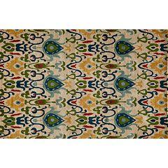 Momeni Habitat Floral Teardrop Wool Rug