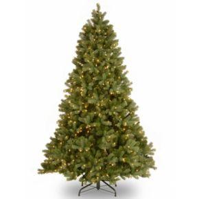 7.5-ft. ''Feel Real'' Pre-Lit Dual LED Downswept Douglas Fir Artificial Christmas Tree