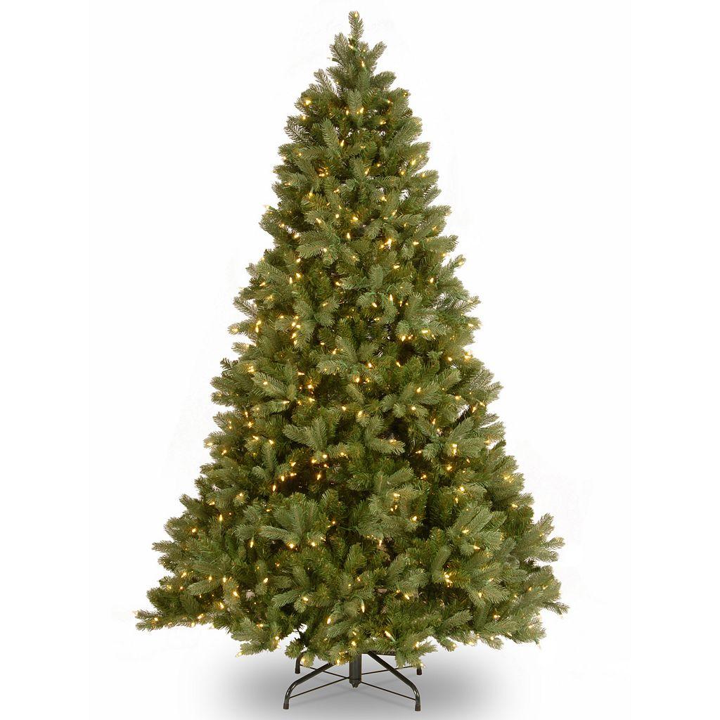 7.5-ft. Pre-Lit Dual Color LED ''Feel Real'' Downswept Douglas Fir Artificial Christmas Tree