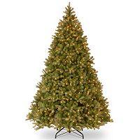 9-ft. Pre-Lit Dual Color LED ''Feel Real'' Downswept Douglas Fir Artificial Christmas Tree