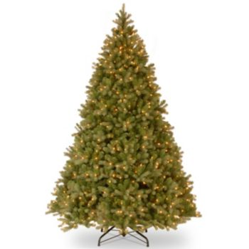 9-ft. Pre-Lit Dual Color LED ''Feel Real'' Downswept Douglas Fir Artificial Christmas Tree