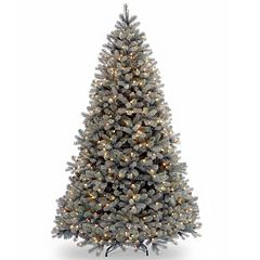 7.5-ft. Pre-Lit ''Feel Real'' Downswept Douglas Blue Fir Artificial Christmas Tree