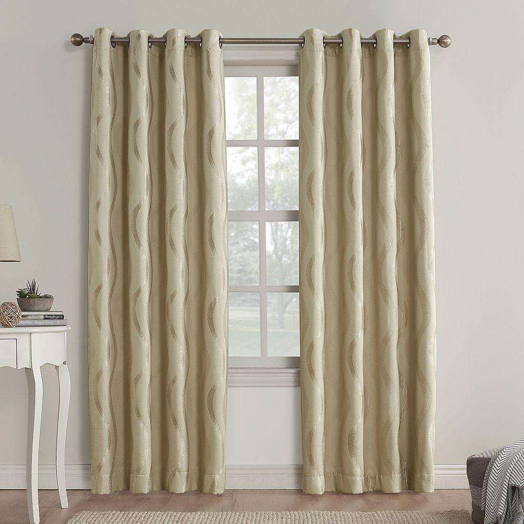 Sun Zero Alchemy Blackout Window Curtain