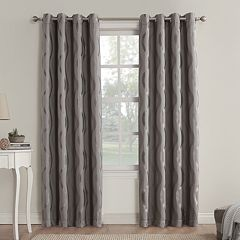 Sun Zero Blackout 1-Panel Alchemy Window Curtain