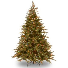6-ft. Pre-Lit Dual LED ''Feel Real'' Frasier Grande Artificial Christmas Tree