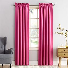 Sun Zero 1-Panel Gramercy Room Darkening Brights Window Curtain