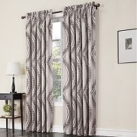 Sun Zero Prism Room Darkening Window Curtain