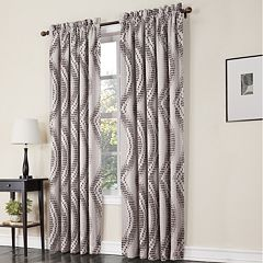 Sun Zero 1-Panel Prism Room Darkening Window Curtain