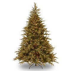 9-ft. Pre-Lit Dual LED ''Feel Real'' Frasier Grande Artificial Christmas Tree