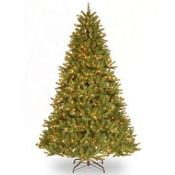7.5-ft. Pre-Lit ''Feel Real'' Grande Fir Medium Artificial Christmas Tree