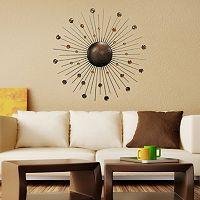 Sunburst Metal Wall Art