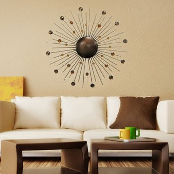 Sunburst Metal Wall Art