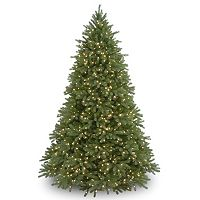 9-ft. Pre-Lit Dual LED ''Feel Real'' Jersey Frasier Fir Medium Artificial Christmas Tree
