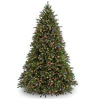 7.5-ft. Pre-Lit Multicolor ''Feel Real'' Jersey Frasier Fir Artificial Christmas Tree