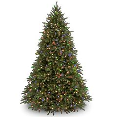 7.5-ft. Pre-Lit Multicolor ''Feel Real'' Jersey Frasier Fir Artificial Christmas Tree