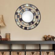 Square Circle Wall Mirror