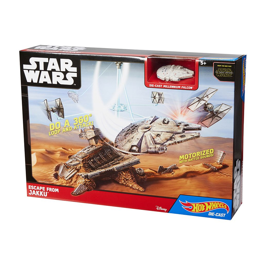 Star Wars: Episode VII The Force Awakens Escape from Jakku Play Set by Hot Wheels