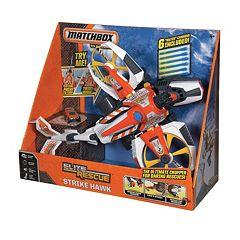 Matchbox Elite Rescue Strike Hawk Playset by