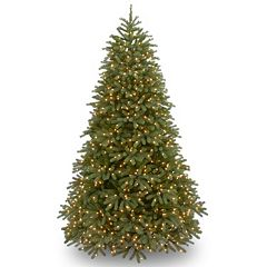 9-ft. Pre-Lit ''Feel Real'' Jersey Frasier Fir Medium Artificial Christmas Tree
