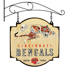 Cincinnati Bengals Vintage Tavern Sign