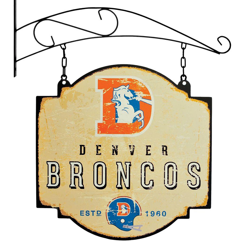 Denver Broncos Vintage Tavern Sign