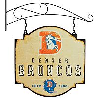 Denver Broncos Vintage Tavern Sign