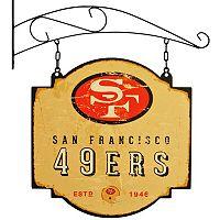 San Francisco 49ers Vintage Tavern Sign