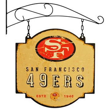 San Francisco 49ers Vintage Tavern Sign