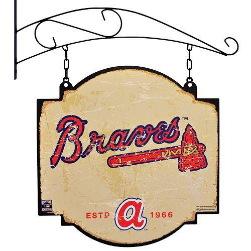 Atlanta Braves Vintage Tavern Sign
