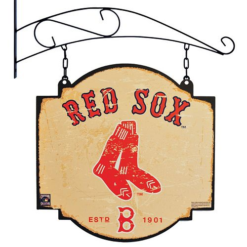 Boston Red Sox Vintage Tavern Sign