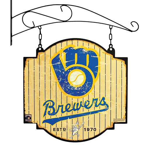 Milwaukee Brewers Vintage Tavern Sign