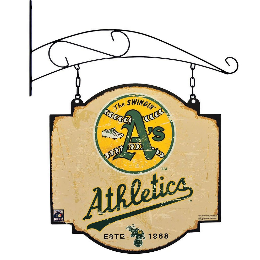 Oakland Athletics Vintage Tavern Sign