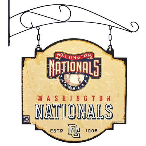 Washington Nationals Vintage Tavern Sign