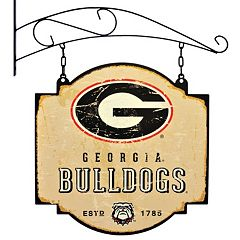 Georgia Bulldogs Vintage Tavern Sign