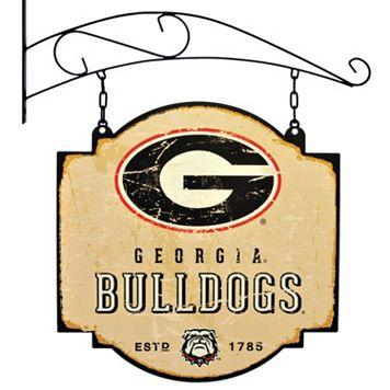 Georgia Bulldogs Vintage Tavern Sign