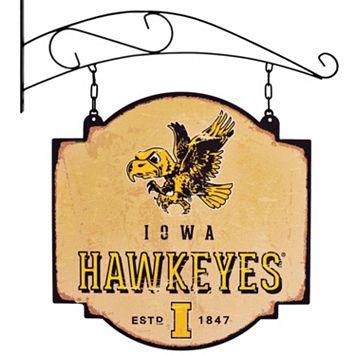 Iowa Hawkeyes Vintage Tavern Sign