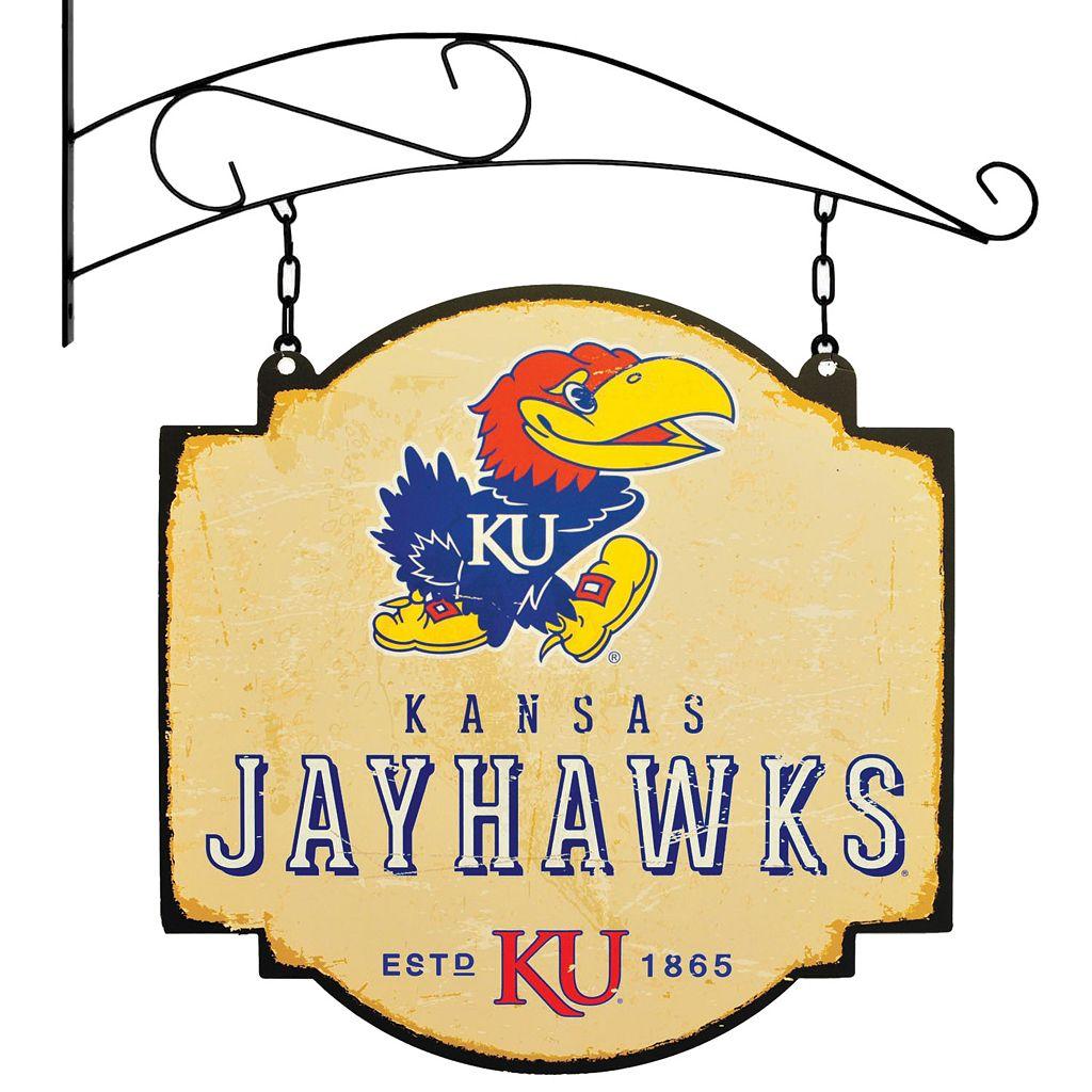 Kansas Jayhawks Vintage Tavern Sign