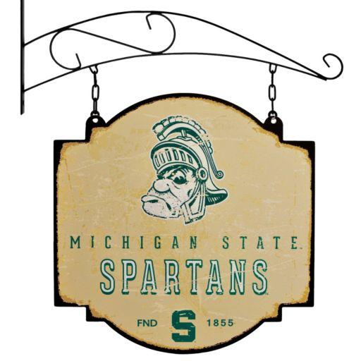 Michigan State Spartans Vintage Tavern Sign