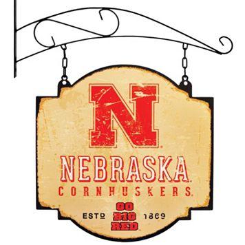 Nebraska Cornhuskers Vintage Tavern Sign