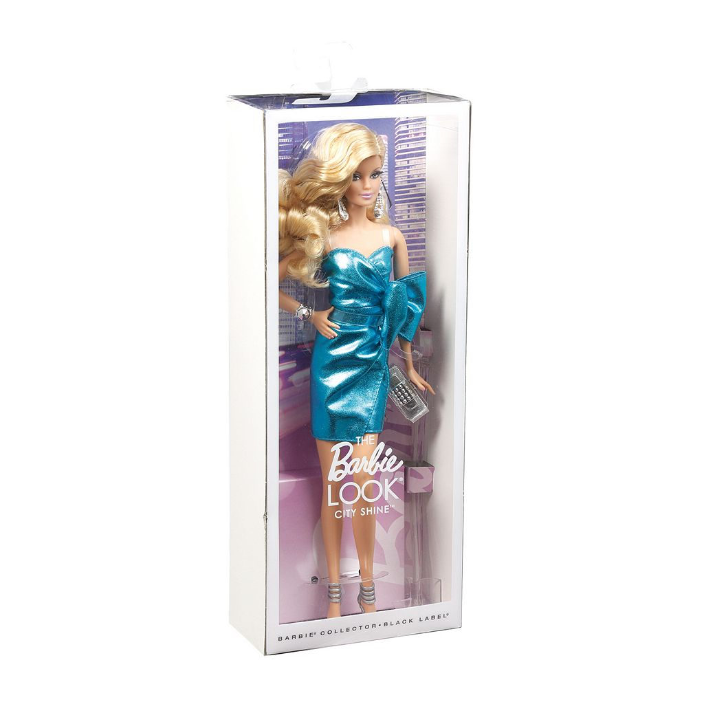 Barbie The Look City Shine Blonde Barbie Doll