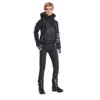 Barbie The Hunger Games: Mockingjay Part 2 Peeta Mellark Doll