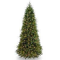 9-ft. Pre-Lit ''Feel-Real'' Jersey Frasier Fir Artificial Christmas Tree