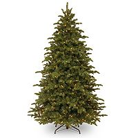 7.5-ft. Pre-Lit ''Feel-Real'' Mountain Noble Spruce Artificial Christmas Tree
