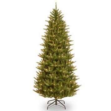 7.5-ft. Pre-Lit ''Feel-Real'' Natural Frasier Artificial Christmas Tree