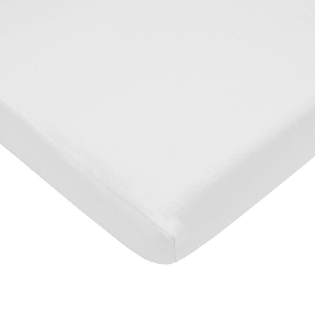 TL Care Jersey Mini Crib Sheet