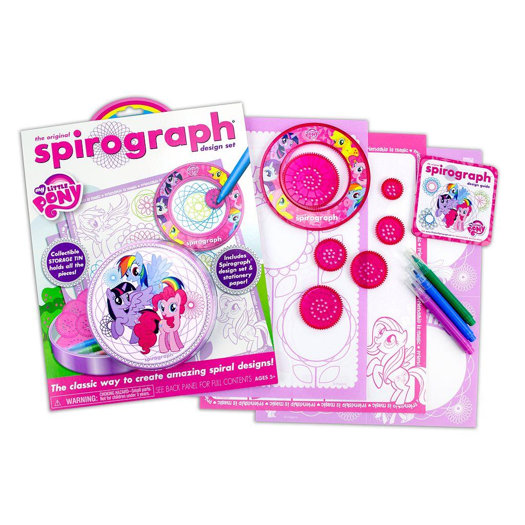 My Little Pony Spirograph Tin Design Set