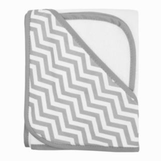 TL Care Organic Terry Hooded Towel & Wash Cloth Set